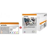 Prindo value pack czarny / cyan / magenta / zólty oryginał PRTBTN242 MCVP