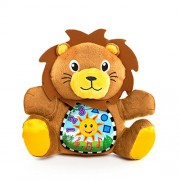 Baby Einstein My Discovery Buddy Lion 3 Languages 5 Classic Melodies (Brown, 1)
