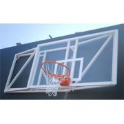 Jogo de canastras de basquete abatibles voo 2.2 m