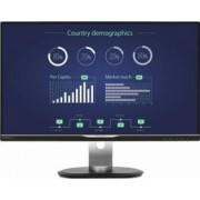 Monitor LED 25 Philips 258B6QUEB IPS WQHD 5 ms Negru