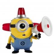 Minion Funko Pop Fire Alarm Minions Mi Villano Favorito Despicable Me-Multicolor