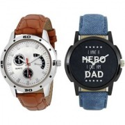 New Arrival Stylish Leather Watch For Men Women Watch - For Boys Girls