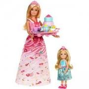 Игрален комплект с кукла Барби и Челси, чаено парти, Barbie, 1710042