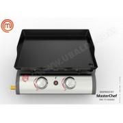 MasterChef - Plancha à gaz 2 brûleurs