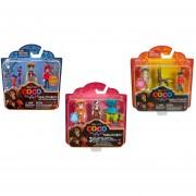 Disney Pixar Coco Pelicula Mini Figuras Pack 3