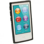 iPod Nano 7G iGadgitz Clip'n'Go TPU Case - Zwart