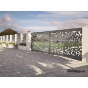 Gard metalic FRUNZE