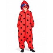 Disfraz mono Ladybug niña 8-10 años (128-140)