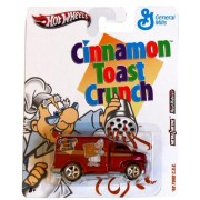 Hot Wheels 49 Ford C.O.E., Cinnamon Toast Crunch General Mills Cereal 2011 Nostalgia Series 1:64