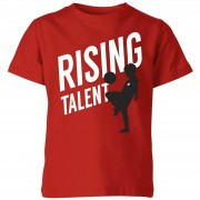 Football Camiseta Rising Talent - Niño - Rojo - 9-10 años - Rojo