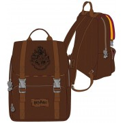 Groovy Harry Potter - Hogwarts Backpack Brown