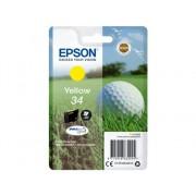Epson Cartucho de tinta original EPSON 34, Bola de golf 4,2 ml , Amarillo, C13T34644010, T3464