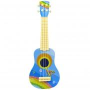 Guitarra infantil de juguete 360DSC - Azul