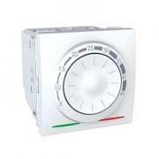 Termostat pentru incalzire in pardoseala, 2 module, alb