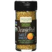Frontier Herb Orange Peel Organic Granules, 1.92 Ounce