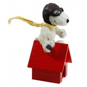 Mohair Snoopy Flying Ace with Dog House