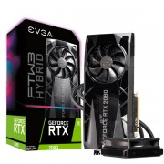 VGA EVGA RTX 2080 FTW3 Ultra Hybrid, nVidia GeForce RTX 2080, 8GB, do 1860MHz, 24mj (08G-P4-2284-KR)
