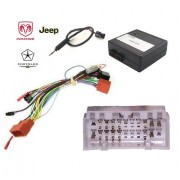 COMMANDE VOLANT JEEP GRAND CHEROKEE 2005-2007 - Pour KENWOOD avec can bus