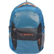 Alfisha Techpro 191 Series Laptop/Casual Waterproof Backpack - Fits Up to 18-Inch Laptops|Casual Backpack 28 L Backpack(Blue)