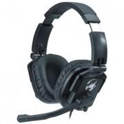 Слушалки hs-g550 gaming headset - genius пълноразмерни геймърски слушалки с въртящи и прибиращи се наушници, управление 31710040101