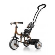 Gyerek háromkerekű bicikli csengővel Milly Mally Boby 2015 brown