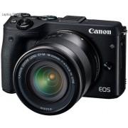 Canon EOS M3 24 MegaPixel Black Digital Camera with 18-55 EF-M Lens Kit