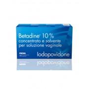 Meda Pharma Spa Meda Betadine 10% Concentrato E Solvente Per Soluzione Vaginale 5 Flaconi + 5 Fialette + 5 Cannule