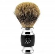 Frank Shaving Blaireau noir mat pure badger Modena