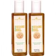 Park Daniel Premium Virgin Sesame oil combo pack of 2 bottles of 100 ml(200 ml)