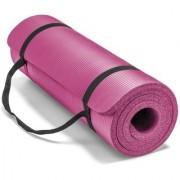Fitguru Yoga Mat Anti Skid Yoga mat for Gym Workout and Flooring Exercise - Long Size Yoga mat for Men Women (Pink)