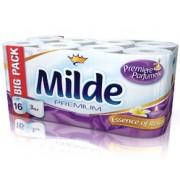 Тоалетна хартия Milde Premium, 16 ролки