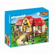 Playmobil Country - Pony Farm, Ferma mare cu padoc