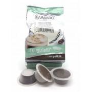 Barbaro 10 Capsule Bialetti Compatibili Caffè d'Italia Barbaro Orzo