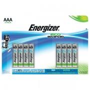 Batterie eco Advanced Energizer E300116300 - 383233 aaa - ministilo - Confezione 8 - E300116300