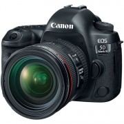 Canon Eos 5d Mark Iv + Ef 24-70mm F/4 L Is Usm - 2 Anni Di Garanzia In Italia