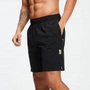 Myprotein Training Stretch Geweven 9 Inch Shorts - Zwart - XXL