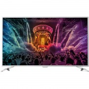Televizor Smart LED Philips 123 cm Ultra HD 49PUS6561/12, WiFi, USB, CI+, Silver