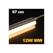 LED fénycső , T5 , 12 W , 87 cm , sorolható , meleg fehér