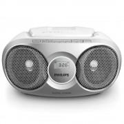 Microsistem Philips, AZ215B, CD player,3W, Argintiu
