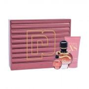 Paco Rabanne Pure XS confezione regalo eau de parfum 50 ml + lozione corpo 75 ml + eau de parfum 6 ml per donna