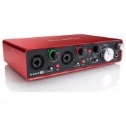 Interfaz De Audio Foscusrite Scarlett 2i2 2da Generación