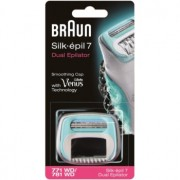 Braun Silk épil 7 Dual cabezal de recambio con cuchillas Braun (771 WD/781 WD)