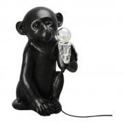 By On Banana Monkey Bordslampa apan 21x34 cm Svart