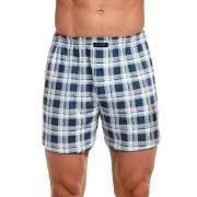 Comfort 161 férfi alsónadrág, kék kockás 5XL