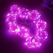 3M x 3M 300-LED Fairy String Lights Christmas Wedding Garden Decoration - Pink
