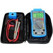 HOLDPEAK 90F Digitális multiméter VDC VAC ADC AAC ellenállás RJ45 RJ11teszt szakadás elemteszt.