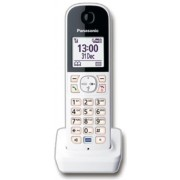 Telefon DECT Panasonic KX-HNH100FXW, Digital, Cordless, Caller ID (Alb)