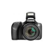 Câmera Digital Canon SX530HS 16MP, Tela 3, Zoom Óptico 50x, Wi-Fi, NFC, Full HD, Cartão 8GB - Preta