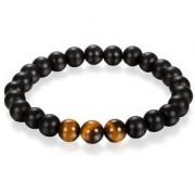 REBUY Religious Bracelet Onyx Tiger's Eye Daily Party Wear Stylish Bracelet for Unisex