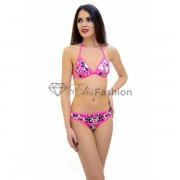 Costum de Baie Bright Flowers Pink